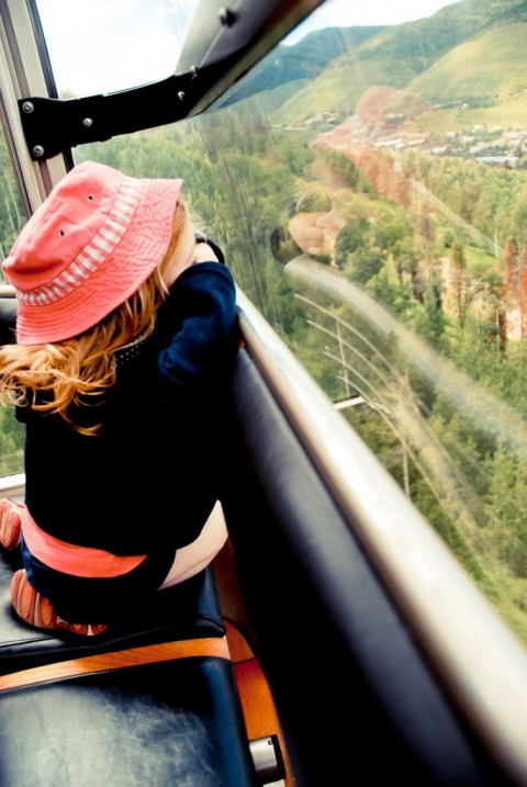 first gondola ride in vail